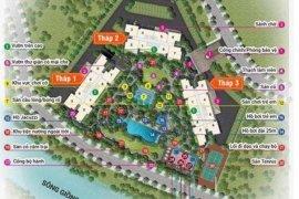 Cần bán căn hộ chung cư 2 phòng ngủ tại Palm Heights, An Phú, Quận 2, Hồ Chí Minh
