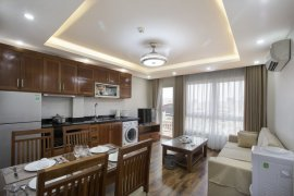 1 Bedroom Serviced Apartment for rent in Dich Vong Hau, Ha Noi