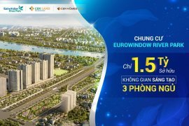 Cần bán căn hộ chung cư 3 phòng ngủ tại EUROWINDOW RIVERPARK ĐÔNG ANH, Đông Hội, Huyện Đông Anh, Hà Nội