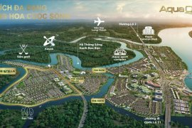 Cần bán nhà phố 4 phòng ngủ tại Aqua City, Long Thành, Đồng Nai