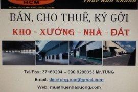 Cho thuê nhà đất thương mại  tại Quận 12, Hồ Chí Minh