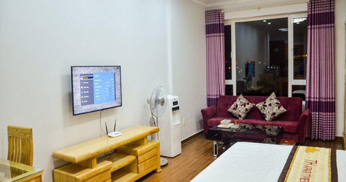 1 bed serviced apartment for rent in hai phong 15 000 000 for 0 bedroom apartment