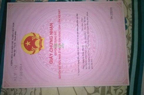 Cần bán Đất nền 2 phòng ngủ tại Vĩnh Tuy, Quận Hai Bà Trưng, Hà Nội